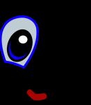 clin d'oeil cartoon
