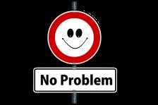 Pancarte no problem